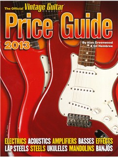 2013 Official Vintage Guitar Price Guide Books | Guitar