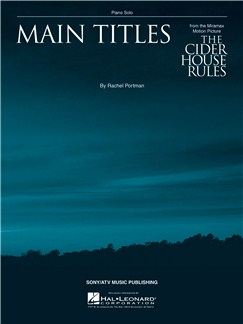 Rachel Portman: Main Titles (The Cider House Rules) Books | Piano