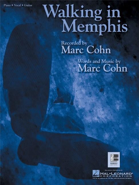 Marc Cohn: Walking In Memphis - Piano, Vocal & Guitar Digital Sheet ...
