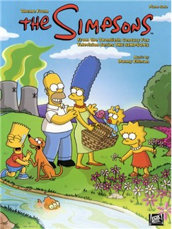 Danny Elfman: Theme From The Simpsons Books | Piano