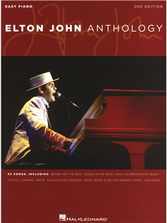 Elton John: Anthology - 2nd Edition Livre | Piano