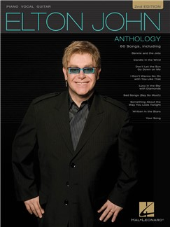 Elton John - Anthology (2nd Edition) Books | Piano, Vocal & Guitar