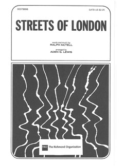 Ralph McTell: Streets Of London (SATB) Books | SATB