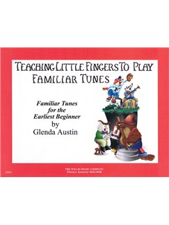 Teaching Little Fingers To Play Familiar Tunes - Book Only Books | Piano