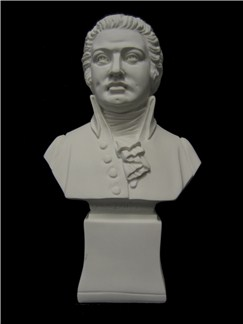 Statuette: Wolfgang Amadeus Mozart - 7in  |