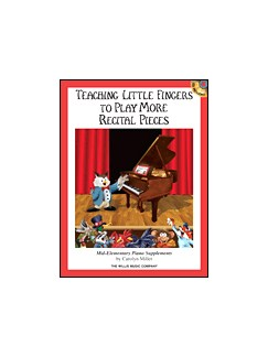 Teaching Little Fingers More Recital Pcs Bk/Cd Books | Piano