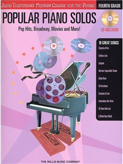 John Thompson's Modern Piano Course: Popular Piano Solos - Fourth Grade (Book and CD) Books and CDs | Piano
