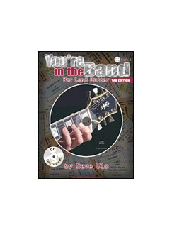 Youre In The Band Lead Guitar Method Bk/Cd Tab Books | Guitar