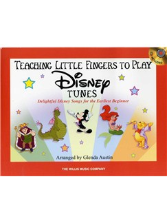 Teaching Little Fingers To Play Disney Tunes (Book/CD) Books and CDs | Piano