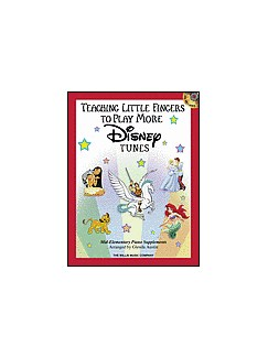 Teaching Little Fingers More Disney Tunes Books | Piano