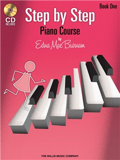 Edna Mae Burnam: Step By Step Piano Course - Book 1 Books and CDs | Piano