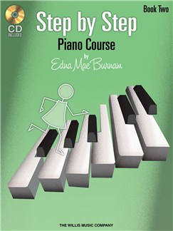 Edna Mae Burnam: Step By Step Piano Course - Book 2 Books and CDs | Piano