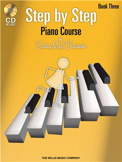 Edna Mae Burnam: Step By Step Piano Course - Book 3 Books and CDs | Piano