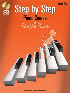 Edna Mae Burnam: Step By Step Piano Course - Book 5 Books and CDs | Piano