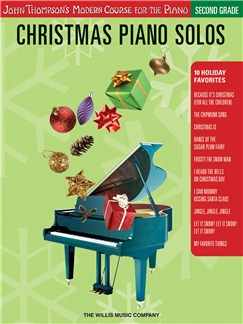 Christmas Piano Solos 2nd Grd Pf Bk Books | Piano