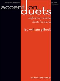 William Gillock: Accent On Duets Books | Piano Duet
