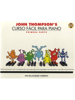 John Thompson's Easiest Piano Course: Part 1 - Spanish Edition (Book/CD) CD et Livre | Piano