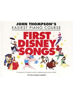 John Thompson's Easiest Piano Course: First Disney Songs Books | Piano