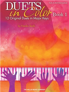 Naoko Ikeda: Duets In Color - Book 1 Books | Piano Duet
