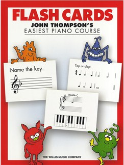 John Thompson's Easiest Piano Course: Flash Cards  | Piano