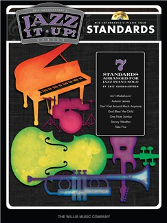 Eric Baumgartner's Jazz It Up! : Standards – Book/CD Books and CDs | Piano, Keyboard