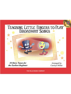 Teaching Little Fingers To Play Broadway Songs (Book/CD) Books and CDs | Piano