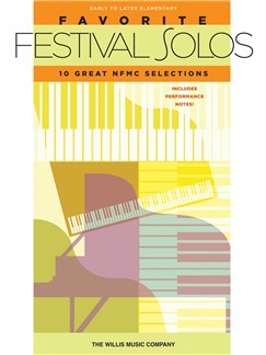 Favorite Festival Solos Books | Piano