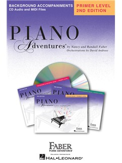 Piano Adventures - Primer Level Lesson Book (CD Only) CDs | Piano