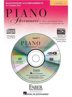 Piano Adventures®: Lesson Book - Level 1 (CD) CDs | Piano
