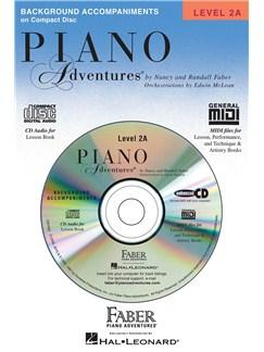 Piano Adventures®: Lesson Book - Level 2A (CD) CDs | Piano