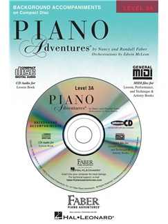 Nancy & Randall Faber: Piano Adventures® Lesson CD Level 3A CDs | Piano