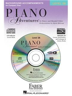 Piano Adventures - Lesson Book CD Level 3B CDs | Piano
