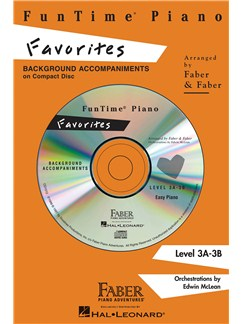 Nancy And Randall Faber: FunTime Piano Favorites CD CDs | Piano