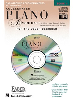 Accelerated Piano Adventures®: Lesson Book 1 (CDs) CDs | Piano