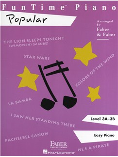 FunTime Piano: Popular - Level 3A-3B Books | Piano