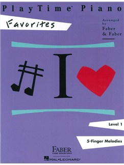 PlayTime Piano Favorites: Level 1 Books | Piano
