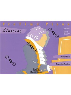 PreTime Piano: Classics - Primer Level Books | Piano