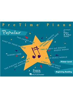 PreTime Piano: Popular Books | Piano