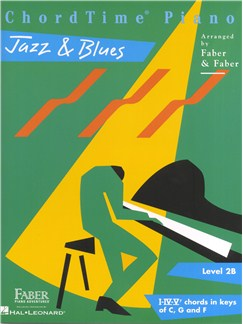 Nancy Faber/Randall Faber: ChordTime Piano - Jazz & Blues Books | Piano