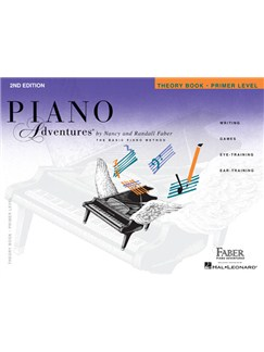 Piano Adventures: Theory Book - Primer Level Books | Piano