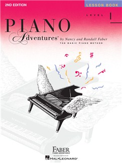 Faber Piano Adventures: Level 1 - Lesson Book (2nd Edition) Books | Piano