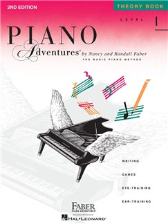 Piano Adventures: Level 1 - Theory Book (2nd Edition) Books | Piano