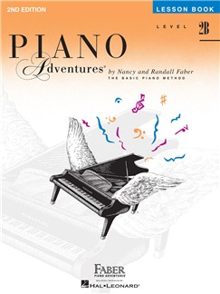 Faber Piano Adventures Level 2B: Lesson Book – 2nd Edition Books | Piano
