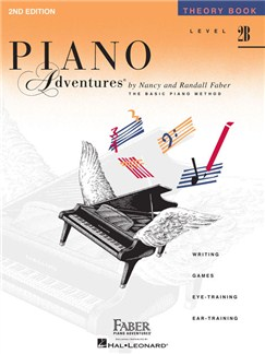 Piano Adventures®: Theory Book - Level 2B Books | Piano