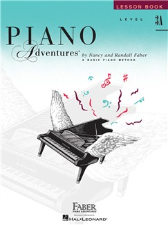 Faber Piano Adventures Level 3A: Lesson Book (2nd Edition) Books | Piano