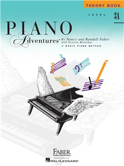 Faber Piano Adventures: Level 3A - Theory Book (1st Edition) Books | Piano