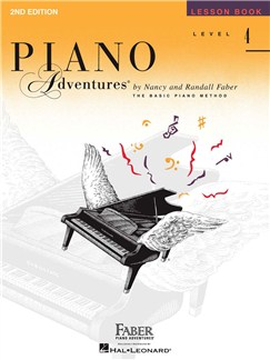Piano Adventures: Level 4 - Lesson Book (2nd Edition) Books | Piano