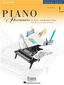 Piano Adventures: Level 4 - Theory Book Books | Piano