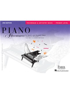 Faber Piano Adventures: Primer Level - Technique & Artistry Book Books | Piano