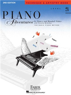 Piano Adventures: Level 2A - Technique & Artistry Book (2nd Edition) Books | Piano